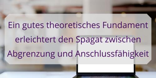 Eine Vision für die DH-Theorie sorgt für ein tragfähiges Fundament der Forschungsrichtung.