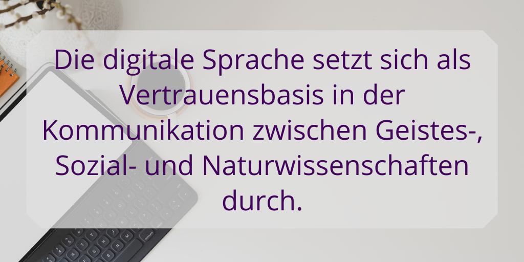 Was bedeuten Materialität und Digitalität in den digitalen Geisteswissenschaften? Der Versuch einer Antwort. #DigitalHumanities #Digitalisierung #Humanities