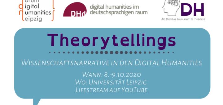 Welche Theorytellings gibt es in den Digital Humanities? Um diese Frage geht es bei diesem Workshop. #DigitalHumanities #Forschung #Theory